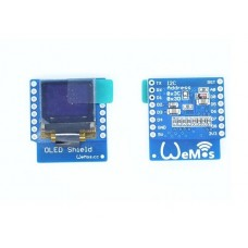 "ESP8266 Wifi Wemos D1 Mini OLED I2C LCD Shield 0,66"" 64x48"