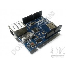Ethernet Shield W5100 Arduino Mikro SD Kartlı